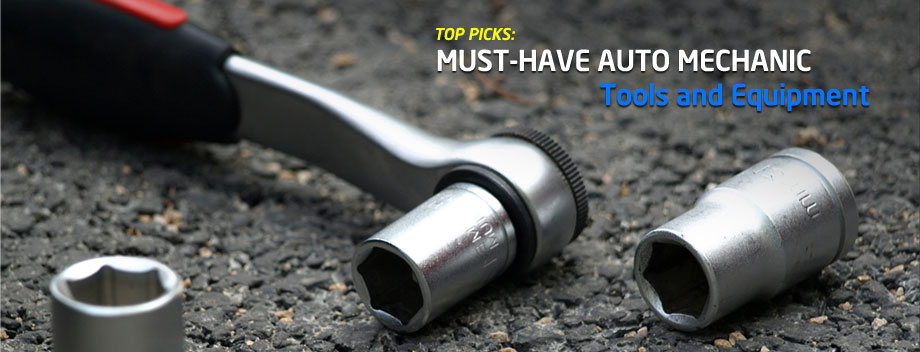 The Best Tools and Equipment for Automotive Mechanics